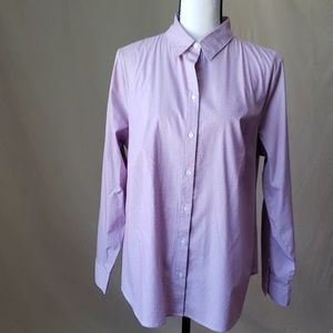 Womans Apt 8 stripped dress shirt